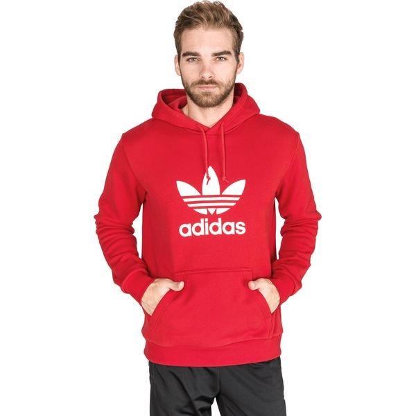 Czerwona bluza męska Adidas Originals