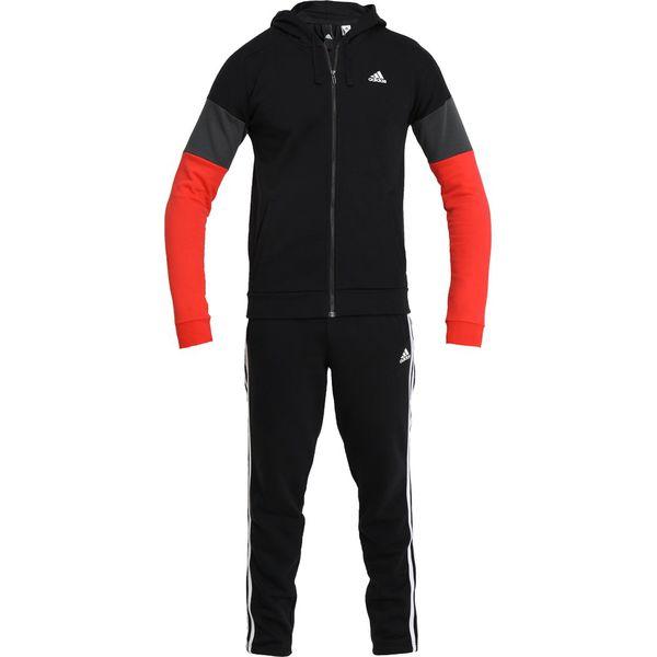 58412bf958c773 adidas Performance Dres black/red/solid grey - Bluzy sportowe męskie adidas  Performance. W wyprzedaży za 367.20 zł. - Bluzy sportowe męskie - Odzież ...