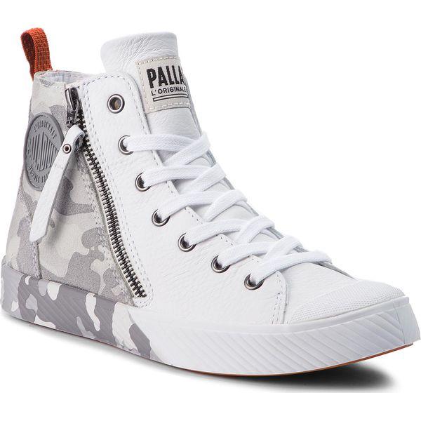 32599320a2cee Trampki PALLADIUM - Pallaphoenix Z Camo 75949-946-M White/Micro Chip/Chl  Grey - Trampki i tenisówki damskie marki Palladium. W wyprzedaży za 359.00  zł.
