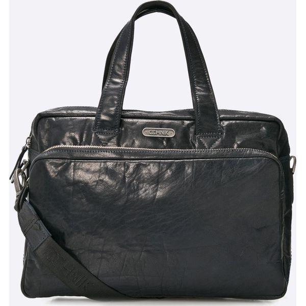 bbce96645faad Ochnik - Torba - Czarne torby na laptopa damskie marki Ochnik, w paski, z  materiału, na ramię, małe. W wyprzedaży za 499.90 zł. - Torby na laptopa  damskie ...