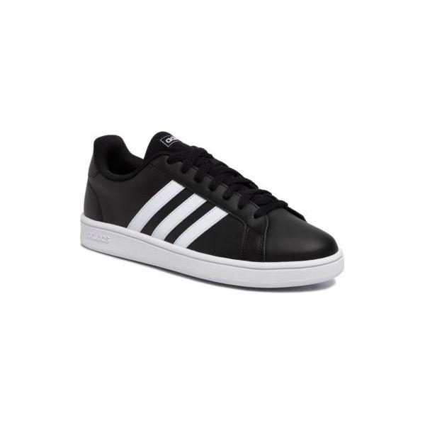 Buty adidas Grand Court czarne EE8133 | Czarny