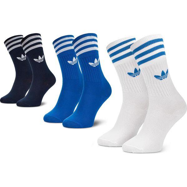 5415c18350f2e Skarpety Wysokie Unisex adidas - Solid Crew Socks DW6827 Conavy ...