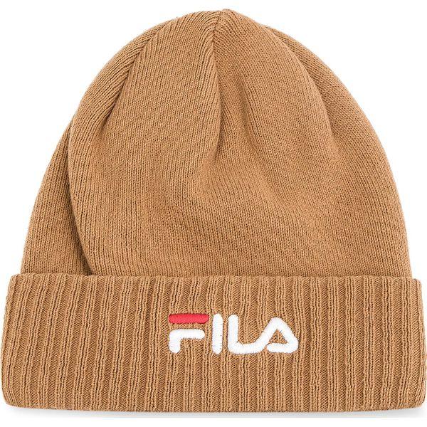 Czapka FILA - Beanie Linear 686012 Camel J87 - Brązowe czapki męskie ... 96323b7f41f