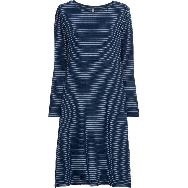 2db02462155289 Sukienka bonprix głęboki niebieski-biały w paski - Niebieskie ...