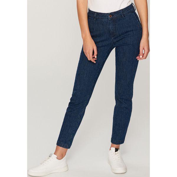 212c8ed282eeb3 Jeansy w paski - Granatowy - Niebieskie jeansy damskie Reserved, w ...