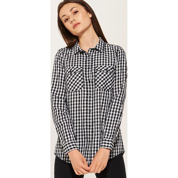 d58c9dcbef9c3f Koszula w kratę - Wielobarwn - Koszule damskie House. W wyprzedaży ...