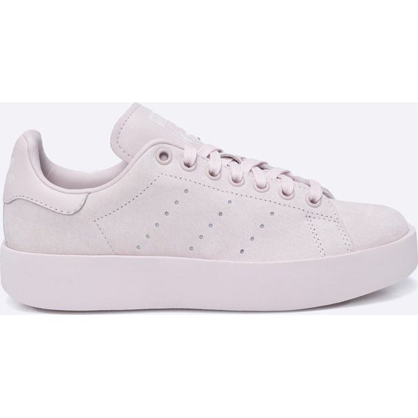 adidas Originals Buty Stan Smith Buty sportowe damskie czerwone w