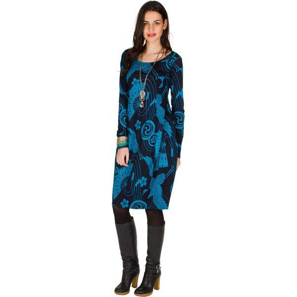 6fe69fe10d Sukienka w kolorze niebieskim - Niebieskie sukienki damskie marki ...
