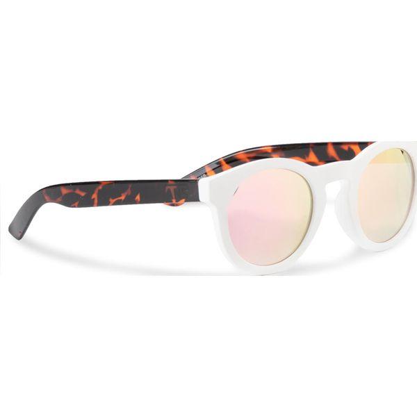 Vans Okulary V00LC0Y28 Białe okulary przeciwsłoneczne