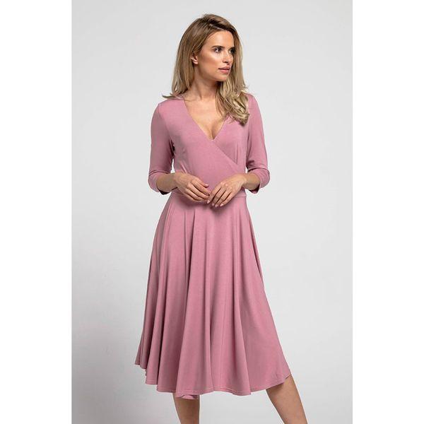 d17e32ae41 Sukienka w kolorze różowym - Czerwone sukienki damskie marki Stylowa ...