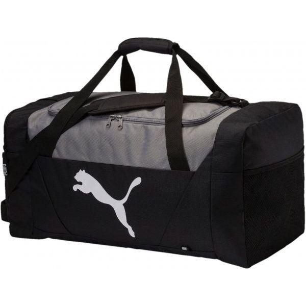 2d468c0e10d97 Puma Torba Sportowa Fundamentals Sports Bag M Black - Torby podróżne damskie  marki Puma. Za 165.00 zł. - Torby podróżne damskie - Torby i plecaki damskie  ...