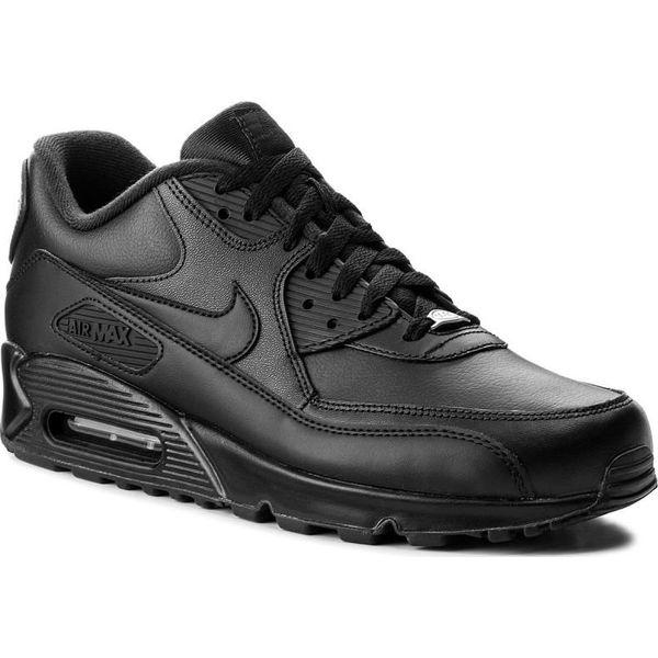 df53876f8d42 Nike Buty męskie Air Max 90 Leather czarne r. 44 1 2 (302519-001) - Czarne  buty sportowe męskie marki Nike