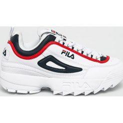 Białe buty sportowe męskie Fila, bez zapięcia Kolekcja