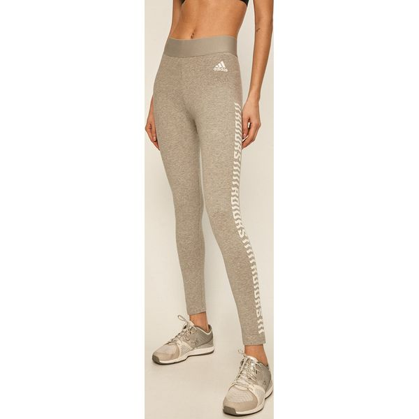 adidas Performance Legginsy Spodnie legginsy damskie szare w