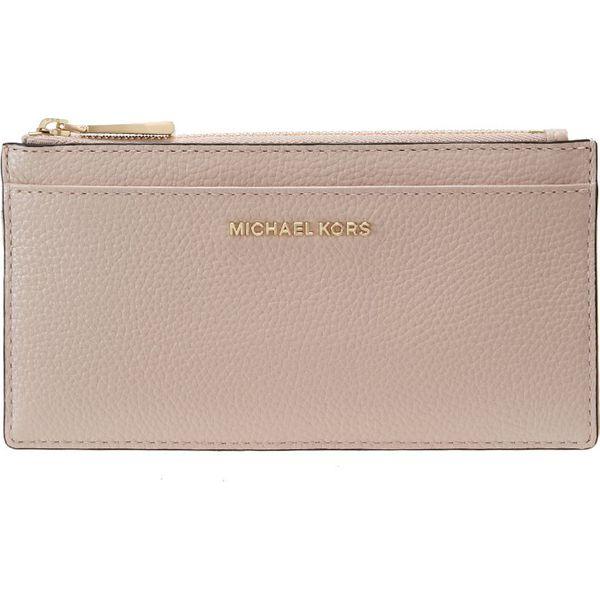 sports shoes 7615d b70f3 MICHAEL Michael Kors MONEY PIECES SLIM CARD CASE Portfel soft pink