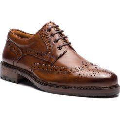 59f04582ca0b3 Półbuty SALAMANDER - Reginald 31-59002-07 Cognac. Brązowe buty wizytowe  męskie marki