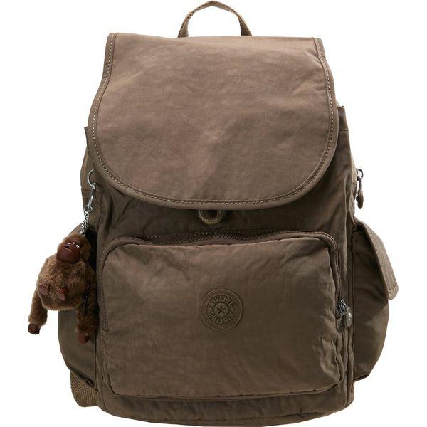 23db5cc2858c9 Kipling CITY PACK L Plecak true beige - Brązowe plecaki damskie ...