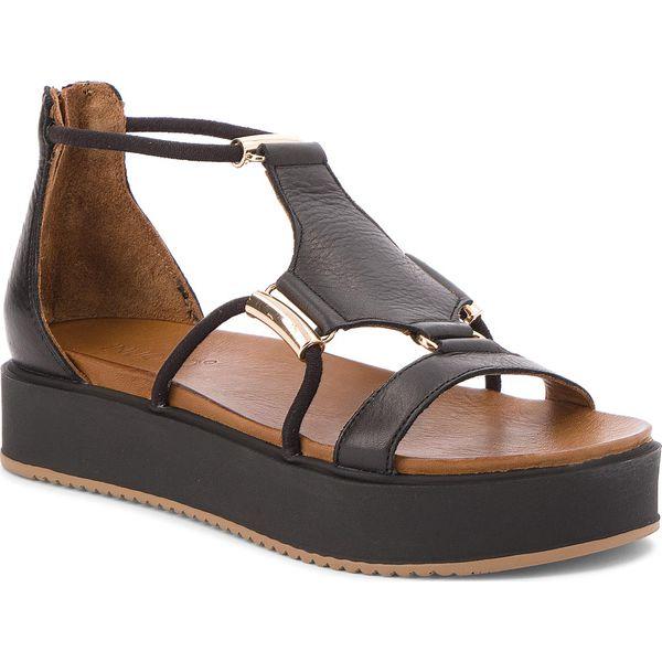5afda9df96ba8 Sandały INUOVO - 8729 Black - Czarne sandały damskie marki Inuovo, z ...