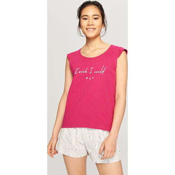 a82cb9939fbf17 Piżama z szortami - Różowy - Piżamy damskie Reserved. W wyprzedaży ...