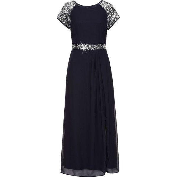 8112cd8b17 Sukienka wieczorowa bonprix ciemnoniebieski - Niebieskie sukienki ...