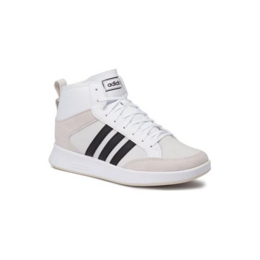 Białe buty sportowe męskie ze sklepu CCC, bez zapięcia