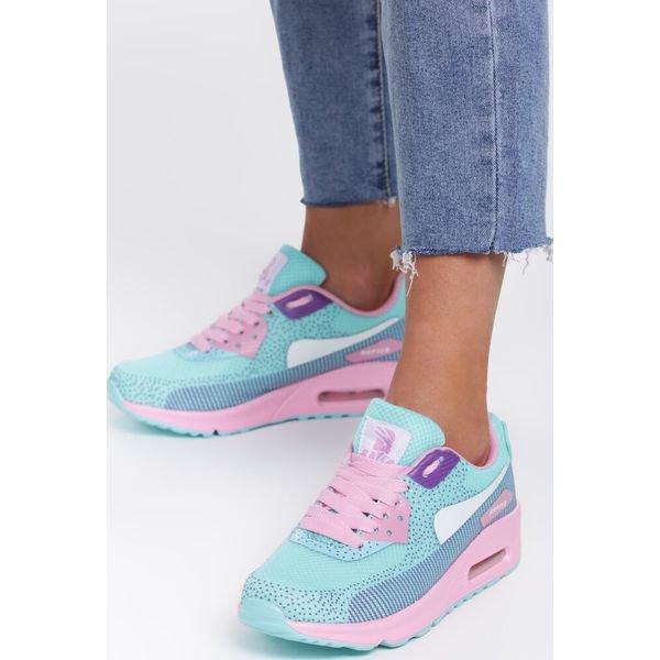 Niebieskie Buty Sportowe Apricot Mood