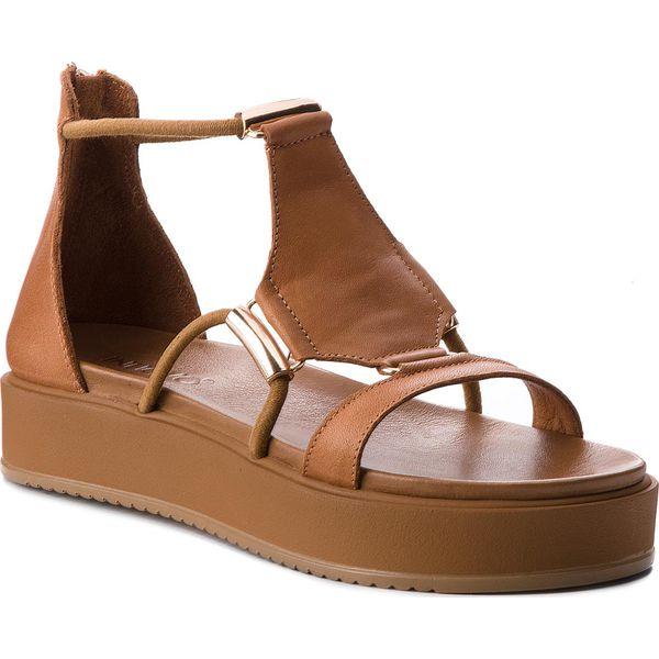 6edc5fb7641d2 Sandały INUOVO - 8729 Coconut - Brązowe sandały damskie marki Inuovo ...