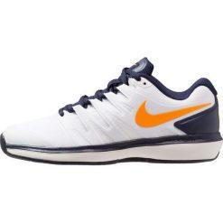 323a123e2c5c4d Nike Performance AIR ZOOM PRESTIGE CLY Obuwie do tenisa Outdoor  white/orange peel/blackened ...