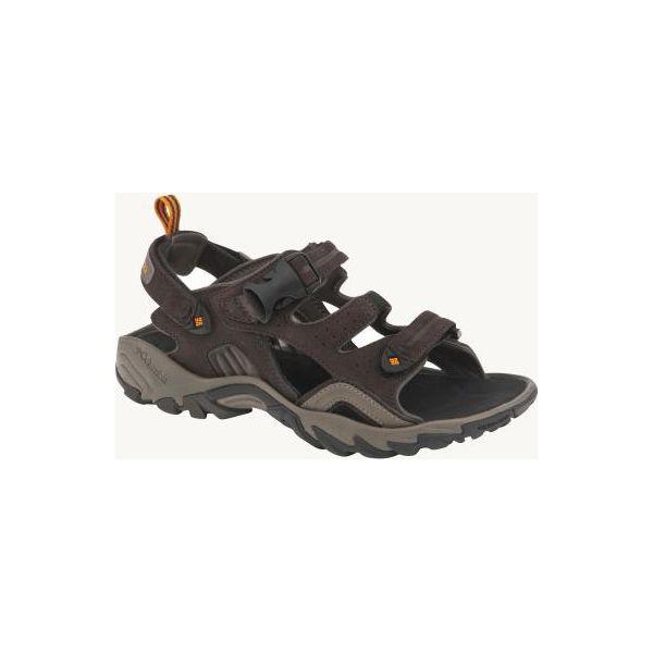 e50a24421 Sandały turystyczne Columbia Ridge Venture męskie - Szare sandały ...