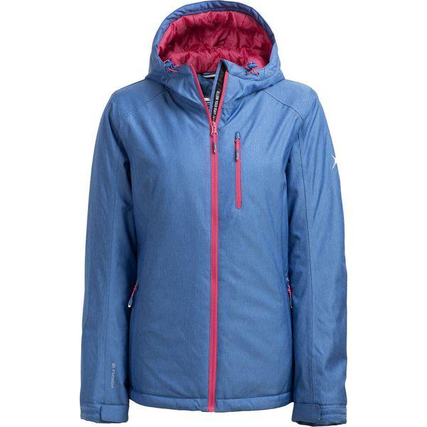 9bac4ca05408c Kurtka narciarska damska KUDN601 - niebieski melanż - Outhorn ...