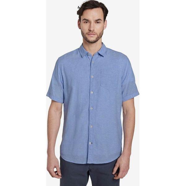 Niebieskie Koszule męskie TOM TAILOR na każdą okazję w