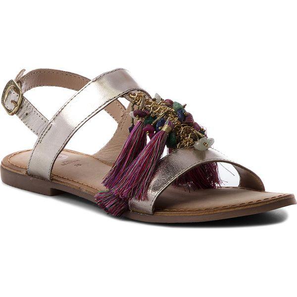 04b5e2dc5f5a1 Sandały GIOSEPPO - 45321 Gold - Żółte sandały damskie marki Gioseppo ...
