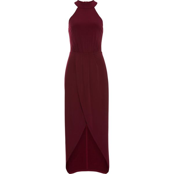 a8022c89a5 Długa sukienka bonprix ciemnoczerwony - Czerwone sukienki damskie ...