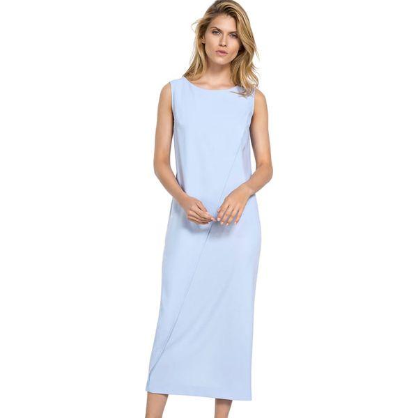 952ccea0f6 Sukienka w kolorze jasnoniebieskim - Niebieskie sukienki damskie ...