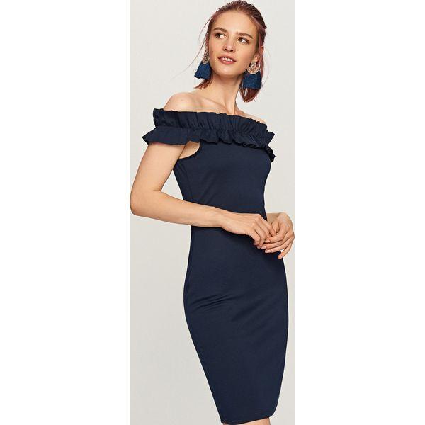 da09beebf1e6f Sukienka o dopasowanym fasonie - Granatowy - Niebieskie sukienki ...