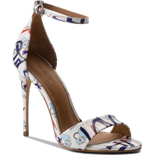 4967fa419ca57 Sandały KAZAR - Cordoba 32236-01-A7 Mi Colour - Białe sandały ...