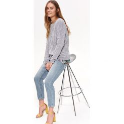 4ee1b61d526184 Sweter w warkoczowy splot - Swetry damskie - Kolekcja lato 2019 ...