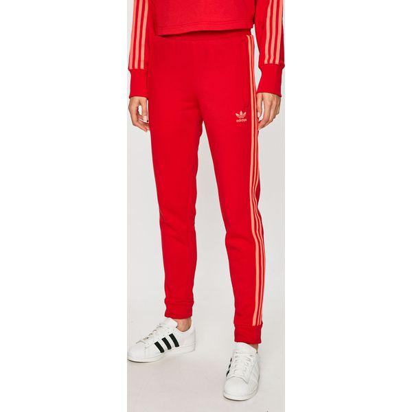 adidas spodnie czerwone damskie