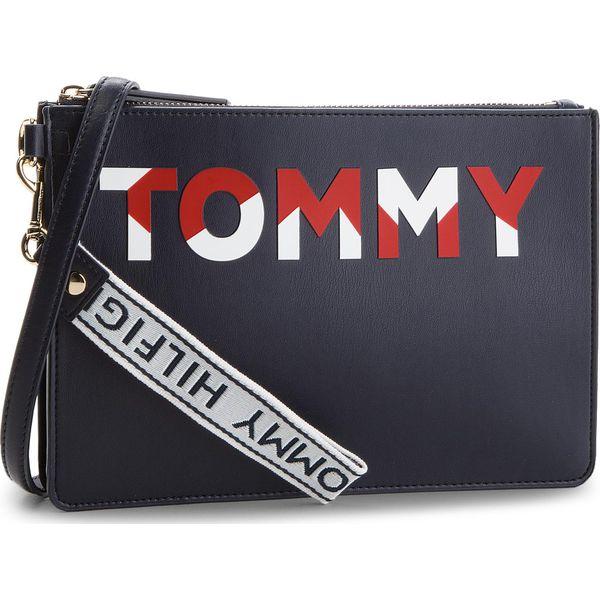 f8280f7022e4a Torebka TOMMY HILFIGER - Iconic Tommy Crossov AW0AW05505 901 ...