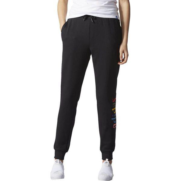 5b8546ba9897e0 Adidas Spodnie Regular Cuffed Trackpant czarne r. M (AY6612 ...