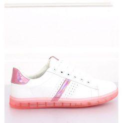 Wyprzedaż różowe obuwie damskie na sznurówki Kolekcja