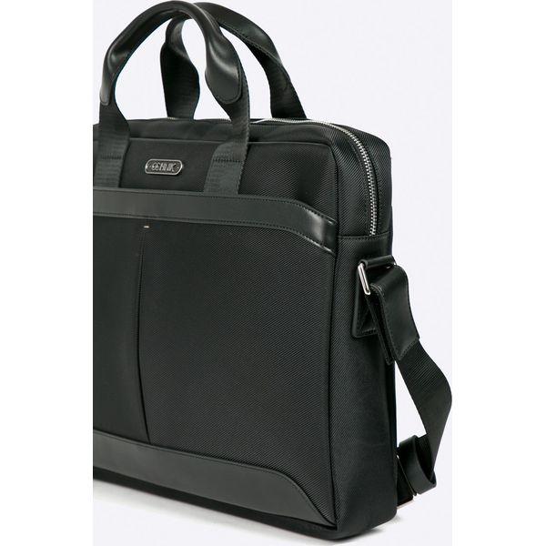 0bb2939909472 Ochnik - Torba - Czarne torby na laptopa damskie marki Ochnik, w ...