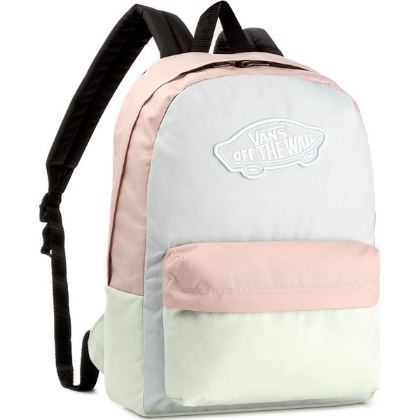 26806657a00191 Plecak VANS - Realm Backpack V000NZ0P40 Baby Bl Evnn 397 - Szare ...
