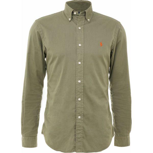 0992a614bd45c9 Polo Ralph Lauren Koszula green - Zielone koszule męskie Polo Ralph Lauren,  m, z bawełny, polo. W wyprzedaży za 367.20 zł. - Koszule męskie - Odzież  męska ...