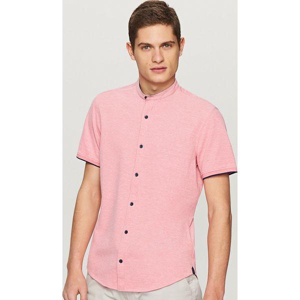 3b0eca6f3ceb Koszula z krótkim rękawem slim fit - Pomarańczo - Różowe koszule ...