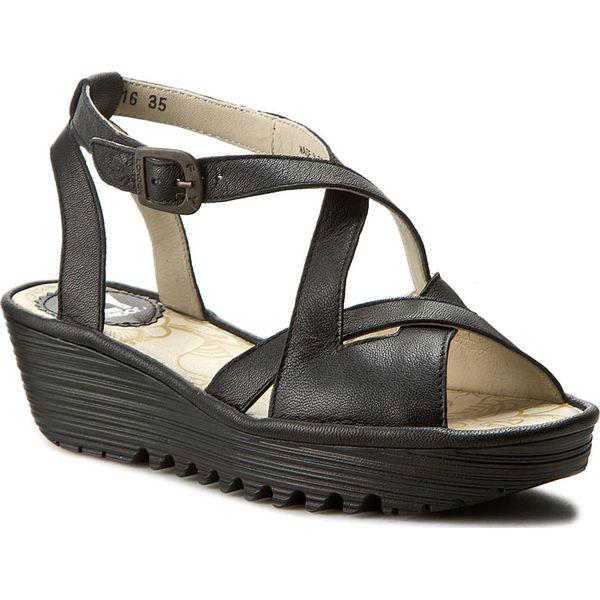 1d0af5ddf4fa3 Sandały FLY LONDON - Randfly P500728000 Black - Czarne sandały ...