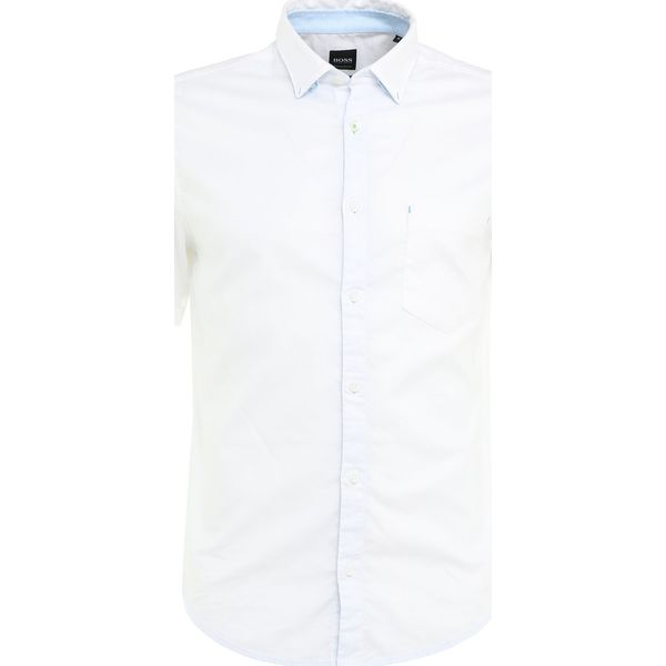 cb69c841d4e54 BOSS ATHLEISURE BAYNI REGULAR FIT Koszula white - Białe koszule męskie  marki BOSS ATHLEISURE, m, z bawełny. Za 419.00 zł. - Koszule męskie -  Odzież męska ...