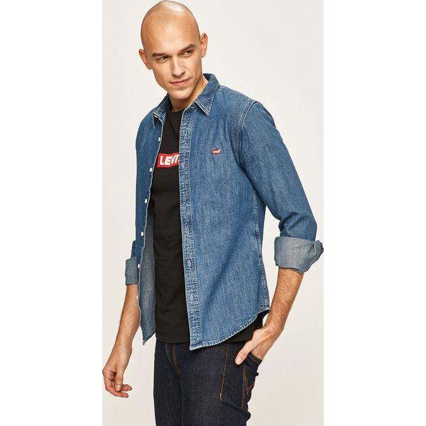 Levi's Koszula jeansowa Niebieskie koszule męskie Levi's  QE5iV