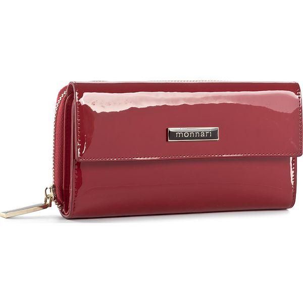 811408a9c9af8 Duży Portfel Damski MONNARI - PUR1021-005 Red - Czerwone portfele ...
