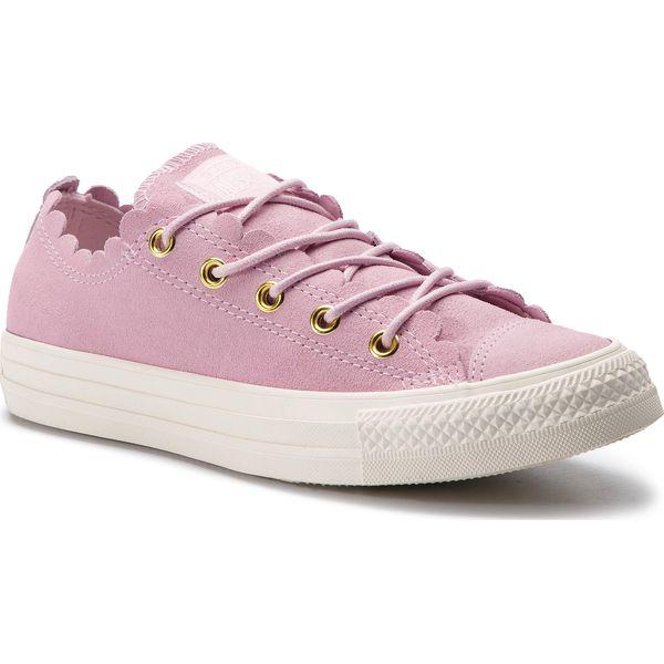 Tenisówki CONVERSE Ctas Ox 563416C Pink FoamGoldEgret